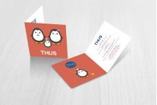 3 schattige pinguïns