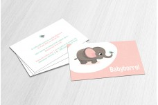 Lief roze olifantje