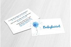 Blauwe ballon