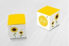 Zonnebloemen en bijtjes