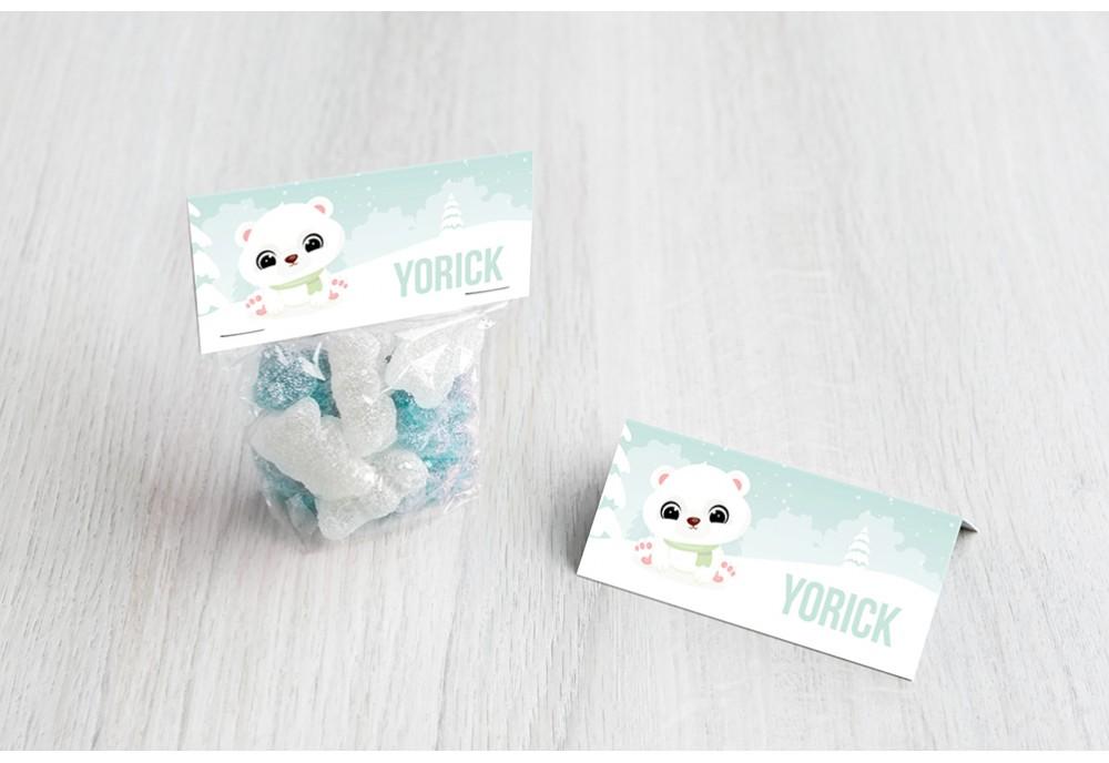 Schattige ijsbeer