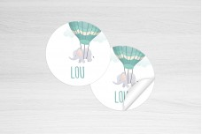 Luchtballon met olifantje